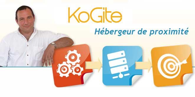 KoGite, services d'hébergement pour professionnels du web