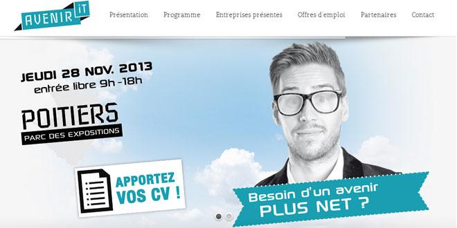 Création et référencement du site Avenir-it.fr